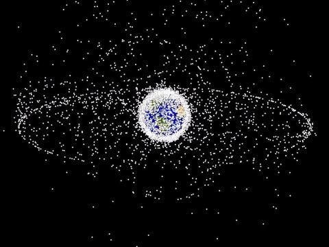 espacio satélite