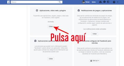 Facebook Desactivar Plataforma 04