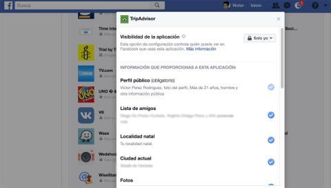 Facebook Tripadvisor