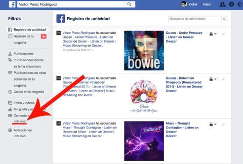 Facebook Ubicaciones