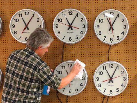 Riesgos del cambio de hora