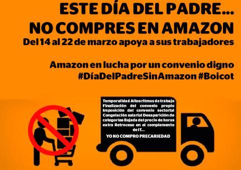 Cartel de la campaña de Amazon