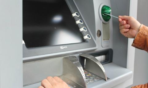 Una imagen de un cajero automático.