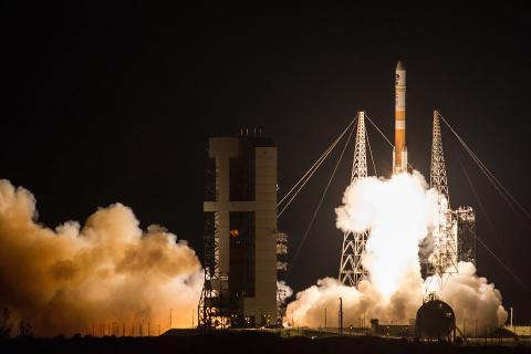 La Fuerza Aérea lanzó el noveno satélite SATCOM Global de Banda Ancha construido por Boeing desde la estación de la Fuerza Aérea en Cabo Cañaveral (Florida) el pasado 18 de marzo de 2017.