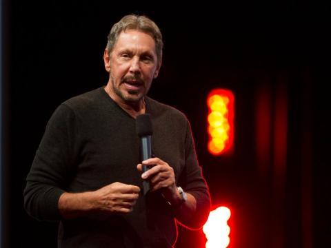 Larry Ellison, CEO de Oracle