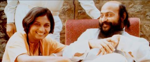 Ma Anand Sheela y Bhagwan Shree Rajneesh