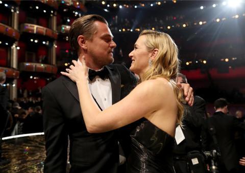 La maldición que amenaza a los actores que ganan el Oscar di caprio y winslet