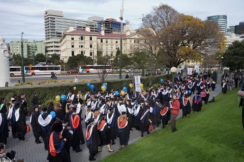 Massey University en Wellington, Nueva Zelanda
