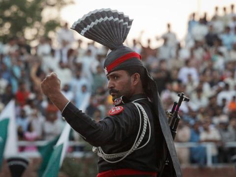 Militar de Pakistán.