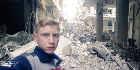 Muhammad Najem narra el horror de la guerra en Siria