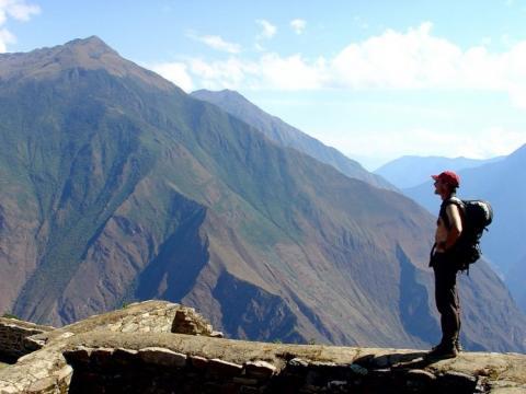 excursión por la montaña