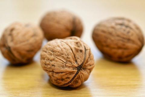Las nueces son buenas para el colesterol.