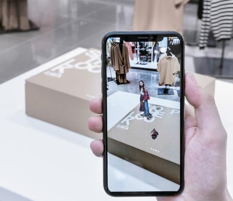 La realidad aumentada también llegará a los paquetes comprados online.