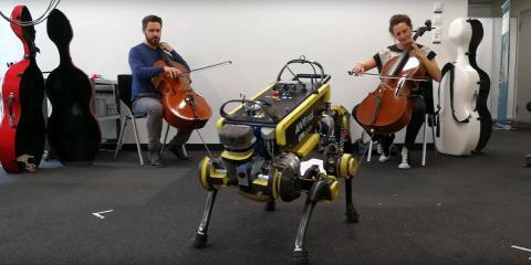 El robot bailarín