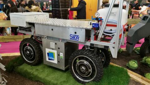 Este robot puede trabajar en pareja