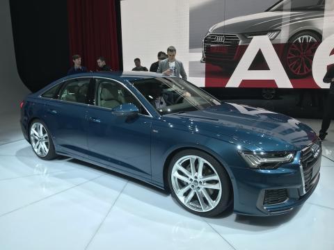Salón de Ginebra 2018 Audi A6