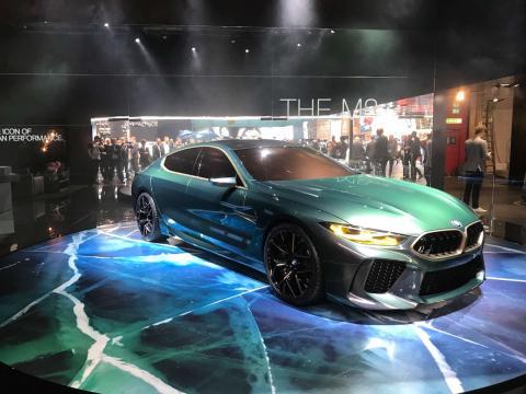 Salón de Ginebra 2018 BMW M8