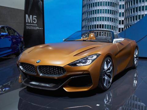 salon de ginebra 2018 bmw z4 coupé