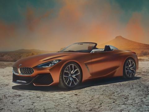 salon de ginebra 2018 bmw z4