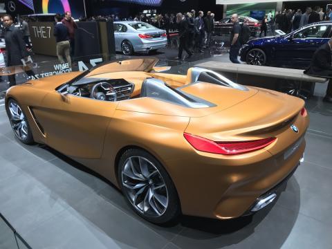 Salón de Ginebra 2018 BMW Z4