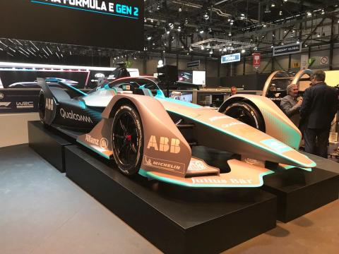 Salón de Ginebra 2018 Formula E 2019