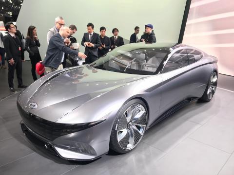 Salón de Ginebra 2018 Hyundai Concept