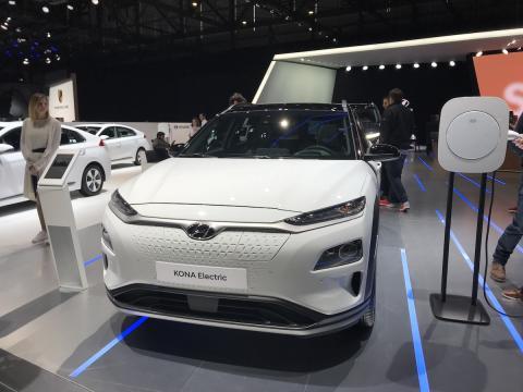 Salón de Ginebra 2018 Hyundai Kona Electric