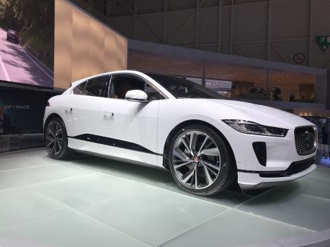 Salón de Ginebra 2018 Jaguar i-Pace
