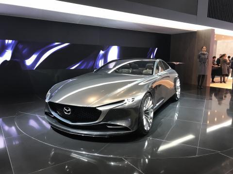 Salón de Ginebra 2018 Mazda Vision Coupe