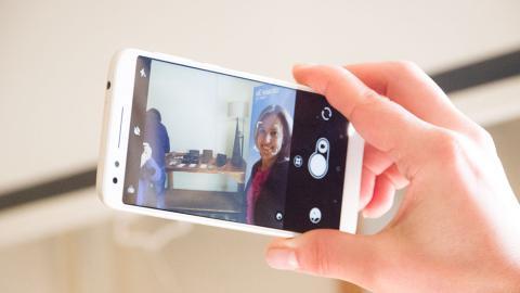 Selfie con un Alcatel serie 3