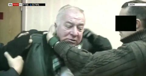 Imágenes de Sergei Skripal en 2004 obtenidas por Sky News.