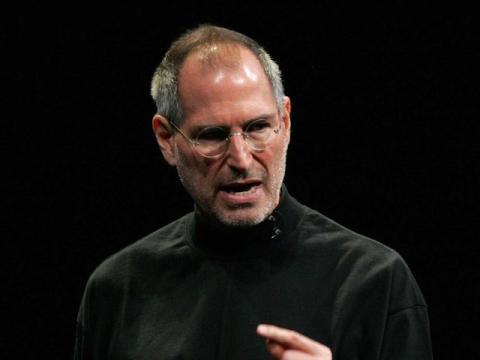 Steve Jobs enfadado