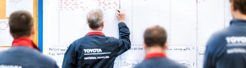 Trabajadores de Toyota