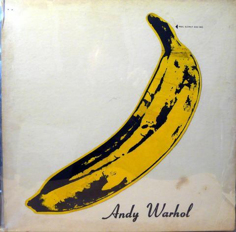 Ilustración de Warhol para la portada del disco conjunto de The Velvet Underground & Nico, 1967.