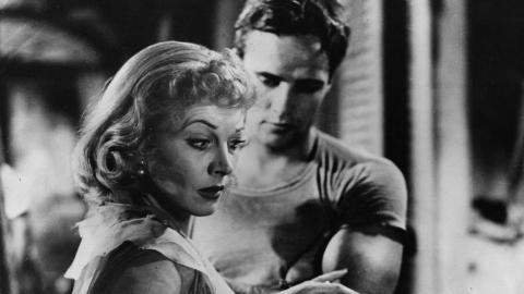 Vivien Leigh y Marlon Brando