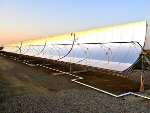 Los paneles solares de Water FX.