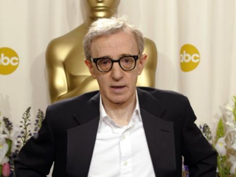 Woody Allen en los Oscar.