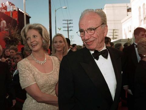 2. Rupert Murdoch and Anna Torv, 1999 — $1.7 billion