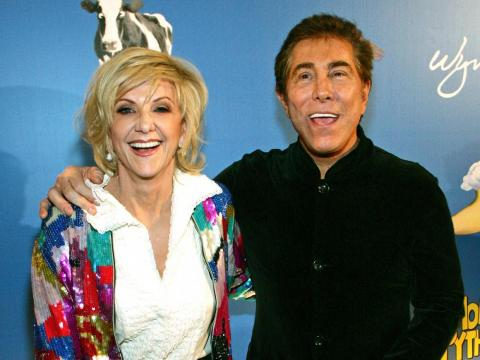 4. Steve and Elaine Wynn, 2010 — $1 billion