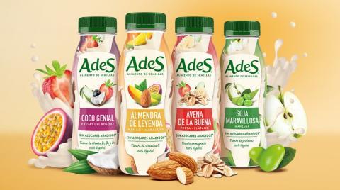 AdeS es la primera bebida vegetal de Coca-Cola