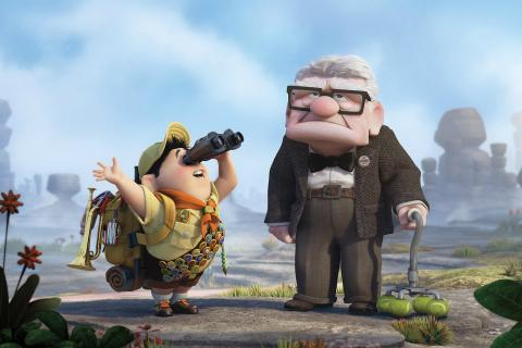 Fotograma de Up, una película Pixar.