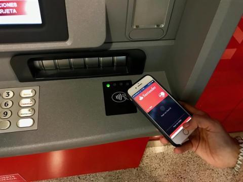 Aplicación del Banco Santander