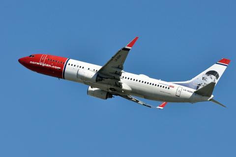 Un avión de Norwegian