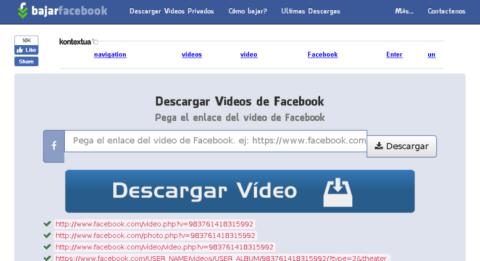 Bajar Facebook