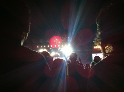Espectadores del festival BBK Live.