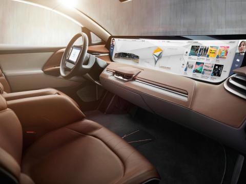 Byton SUV interior