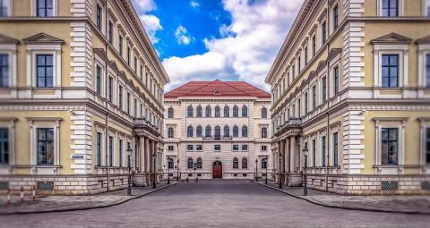 Calles de la ciudad de Munich