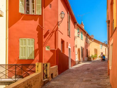 Calles de Niza, Francia