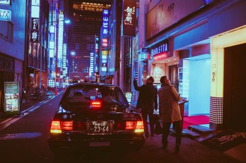 Calles de Osaka, Japón