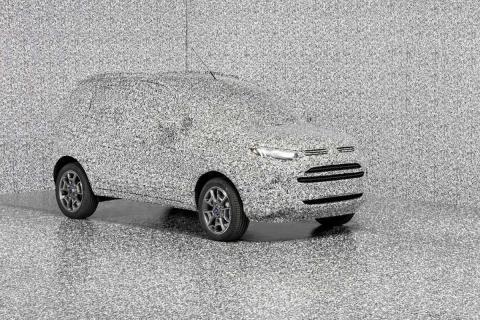 camuflaje de coches de prueba